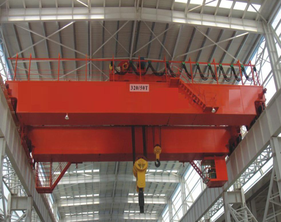 QD型125/32吨电动双梁桥式起重机产品参数