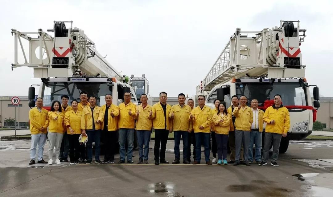 国机重工55吨级定制起重机产品通过验收  国机重工 55吨级 定制 起重机 产品 通过验收 第2张