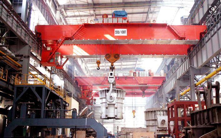 钢厂铸造专用QDY电动双梁冶金桥式起重机