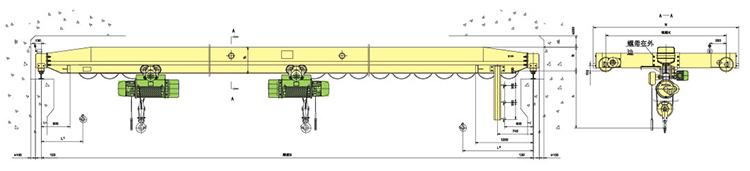 LDE型电动单梁起重机  LDE型 电动单梁 起重机 第2张