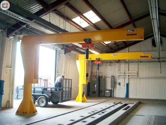 臂式起重机DJB-P型立柱式悬臂吊