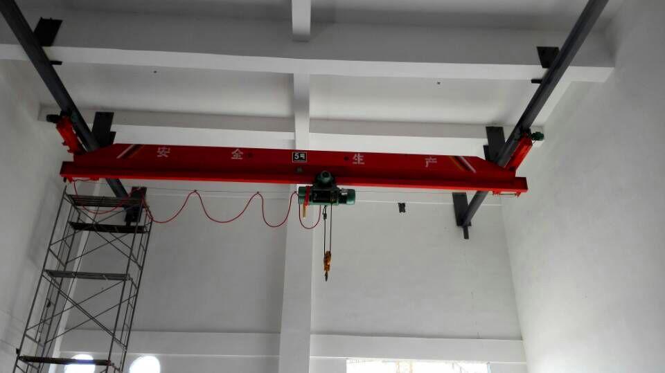 济南起重机LDA电动悬挂单梁起重机10t5t悬挂桥式起重机3t行吊2t天车1t