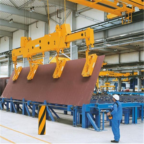 天津起重设备电磁挂梁桥式起重机QL5+5-20+20t双梁行车