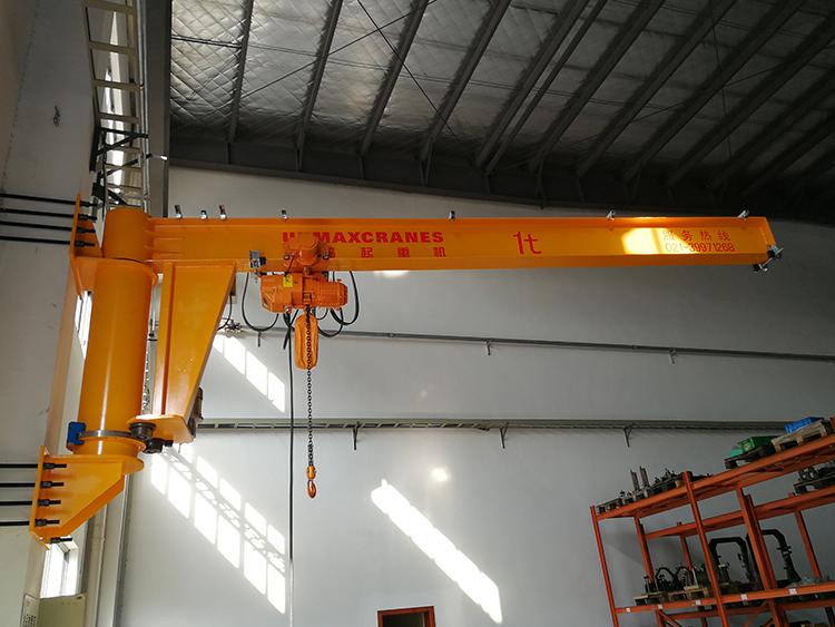 起重设备DJB-W型臂柱式悬臂吊DJB-W型墙壁吊起重机