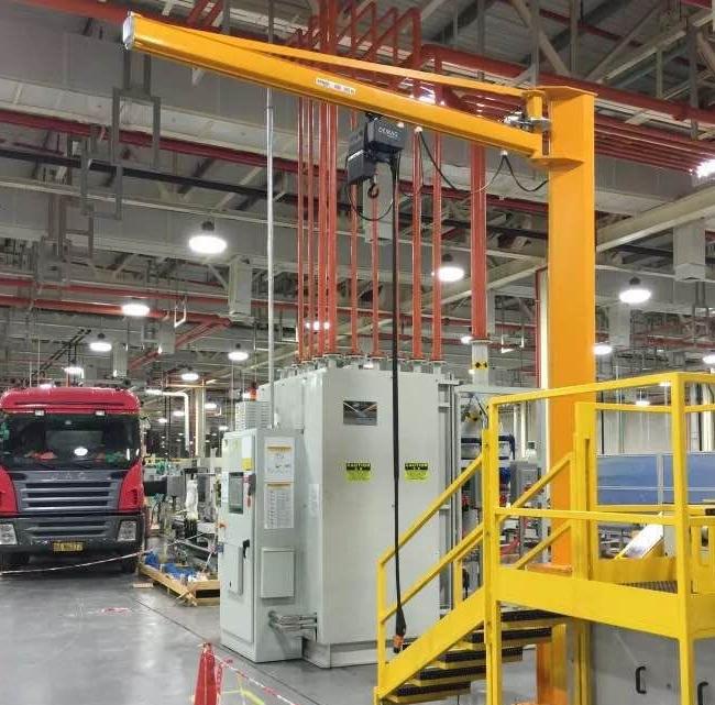 小型起重设备KJB-P型立柱式悬臂吊  小型起重设备 KJB-P型 立柱式悬臂吊 第1张