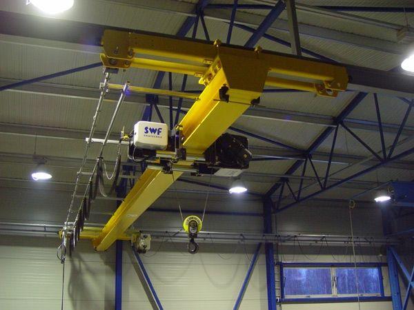 欧式单梁悬挂起重机电动单梁起重机  欧式 单梁悬挂起重机 电动单梁起重机 起重机 第1张
