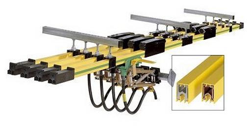 HFDJ型高温单极滑线组合式安全滑触线