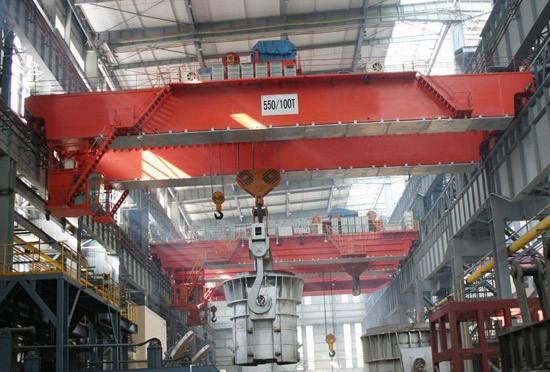 YZ型冶金铸造起重机中国起重机械网  YZ型 冶金铸造起重机 中国起重机械网 起重机 第1张