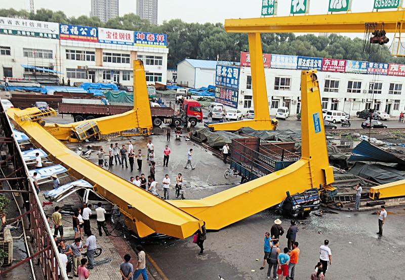 起重机事故案例带给我们的警醒  起重机事故 起重机事故案例 带给我们的 警醒 第1张