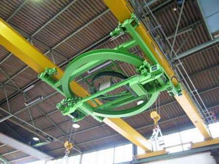 环形单梁起重机设备拐弯式起重机扬州吊车  环形单梁起重机 设备 扬州吊车 拐弯式起重机 起重设备 起重机 第1张