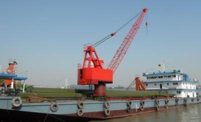 船用挖沙浮式起重机港口起重机  船用挖沙浮式起重机 港口起重机 起重机械 起重机 第1张