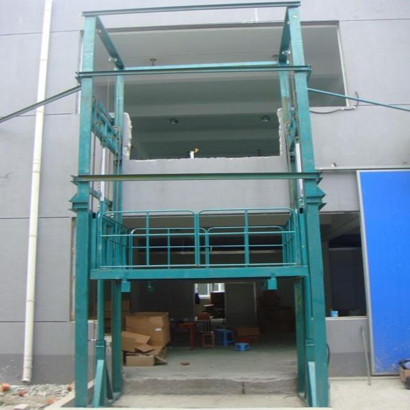 室外贴墙导轨式货梯无锡升降平台  室外贴墙导轨式货梯 无锡升降平台 无锡升降机 第1张
