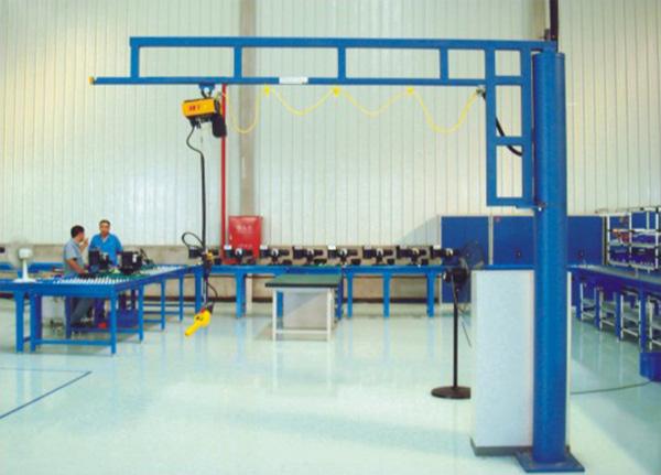 BZ-C自立式悬臂吊臂式起重机  BZ-C 自立式悬臂吊 臂式起重机 BZ-C自立式悬臂吊 起重 起重机械 第1张