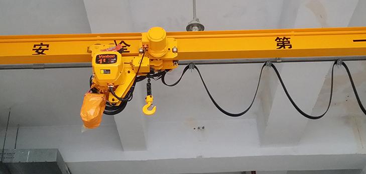 SDQ型手动单梁悬挂起重机组合式悬挂起重机手动单梁悬挂起重机济南起重机