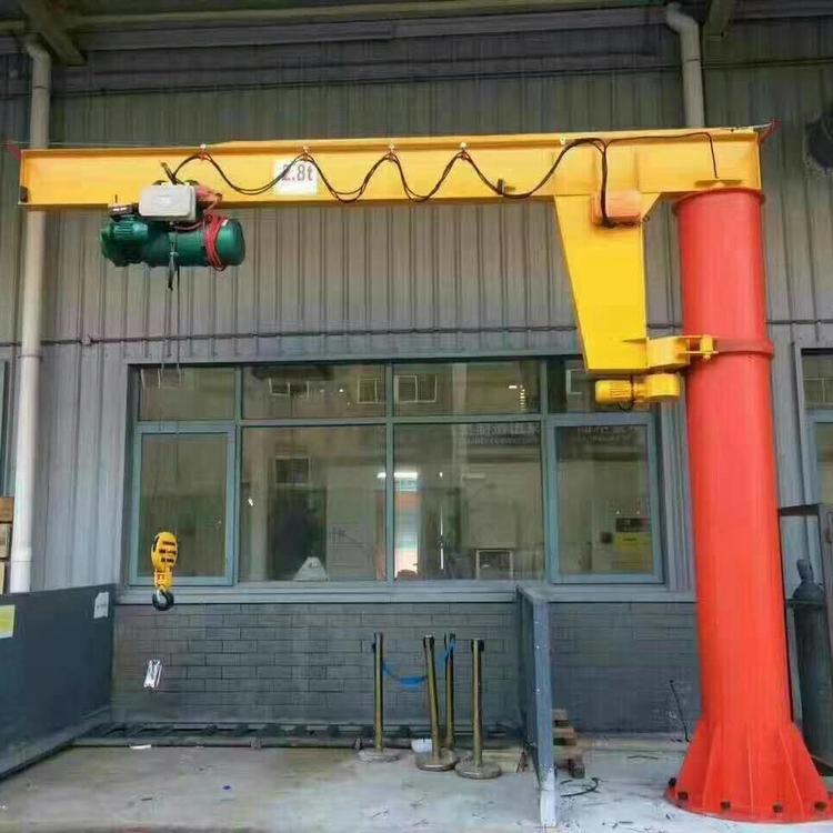 制作1吨电动悬臂吊5吨重型旋臂起重机3吨平衡单臂吊2t旋转吊臂1t