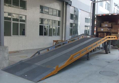 月台登车桥 高强度面板 可定制固定液压登车桥DCQ-G