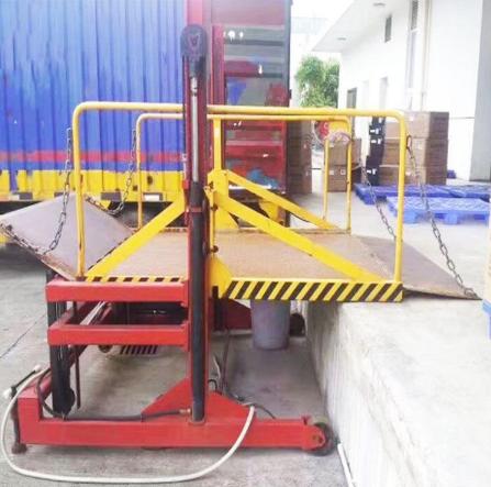 货柜车装卸货平台移动式装卸平台 电动装卸平台 2吨装卸平台 液压装卸平台