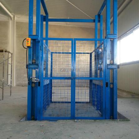 成都市货物升降平台固定式液压货梯启运工业升降机车间自动升降台3米货梯成都升降机