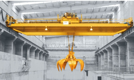双梁起重机50吨垃圾吊车QZ抓斗起重机价格QZ型双梁抓斗5-50吨/垃圾抓斗式起重机