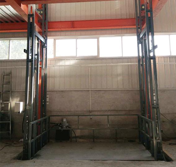 8米10米铝合金升降机单桅杆升降台QYLH小型升降梯小型自动升降平台简易升降机