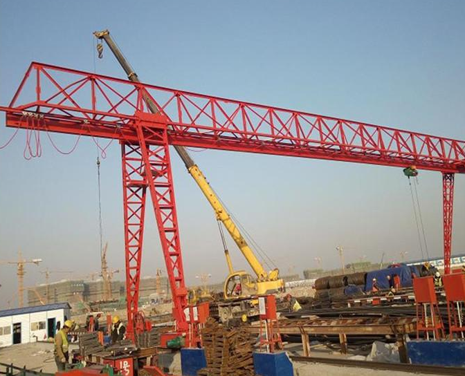 MHh型5吨花架龙门吊门式起重机桁架式10吨龙门吊花架门式起重机四川起重机厂家直销