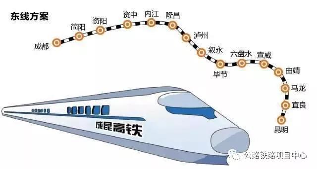 成昆高铁时速350纳入规划3条线路选择!  成昆高铁 时速350 纳入规划 3条线路选择 媒沃重型 媒沃起重机 第4张