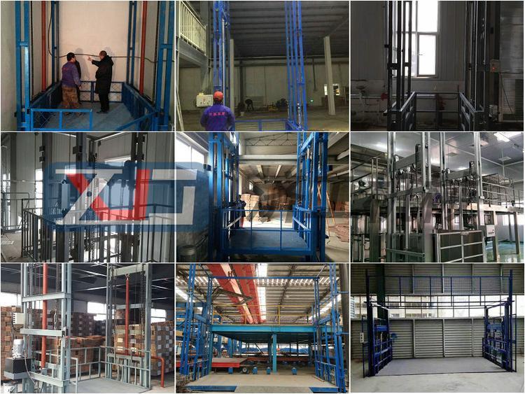 四川升降机sc200施工升降机固定式升降平台高精度简易升降平台厂家室外货梯导轨式