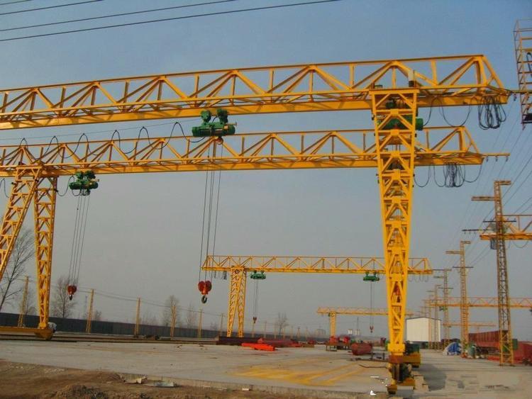 吊钩式电动单梁门式龙门吊 吊钩门式起重机 3吨5吨花架龙门吊6t龙门吊找起重机网