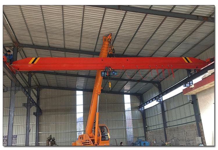 LDA电动单梁起重机出口定做2T单梁桥式起重机Single girder overhead crane