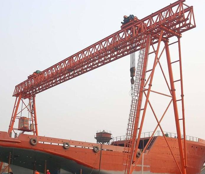 20吨造船龙门起重机单梁双梁龙门起重机重型造船龙门式起重机200t300t中国起重机械网