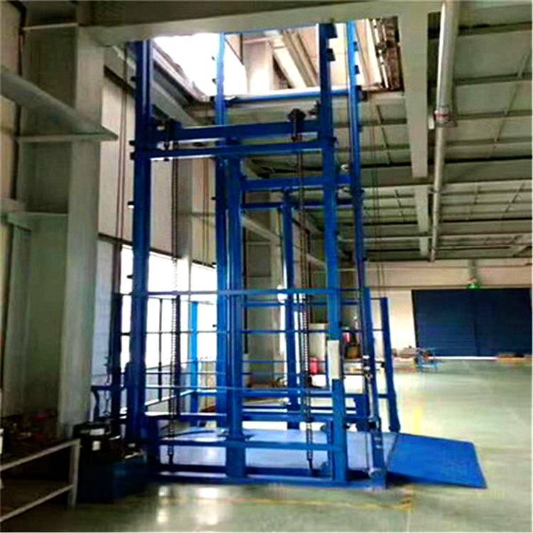 液压货梯载重8吨升降货梯升高10米厂房专用液压货梯2吨液压货梯大连液压货梯