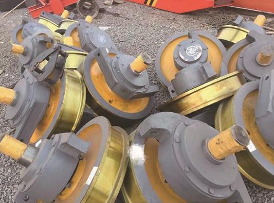 批发零售起重机车轮组被动轮起重机行车轮门式起重机单梁门机移动式龙门吊起重机厂家