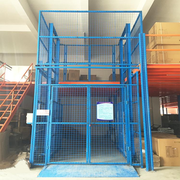 5吨升降货梯临沂导轨货梯武汉仓库升降平台升降平台电动液压升降货梯SJG系列升降机