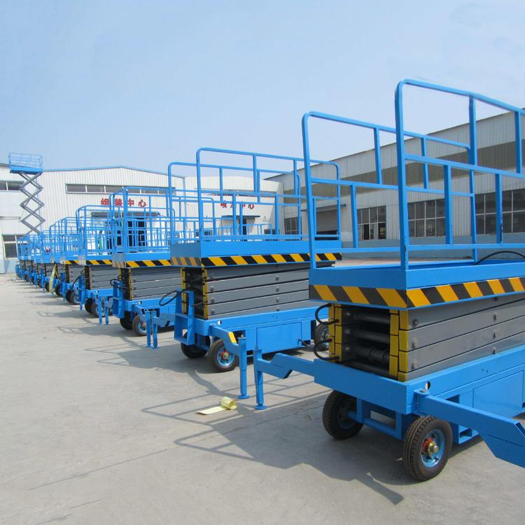 10米三层货梯工厂液压升降平台导轨链条式液压升降机定制4米移动式升降机成都升降机