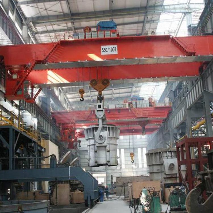 YLD型冶金电动单梁起重机冶金单梁起重机冶金装备850吨冶金起重机YZ型冶金桥式起重机