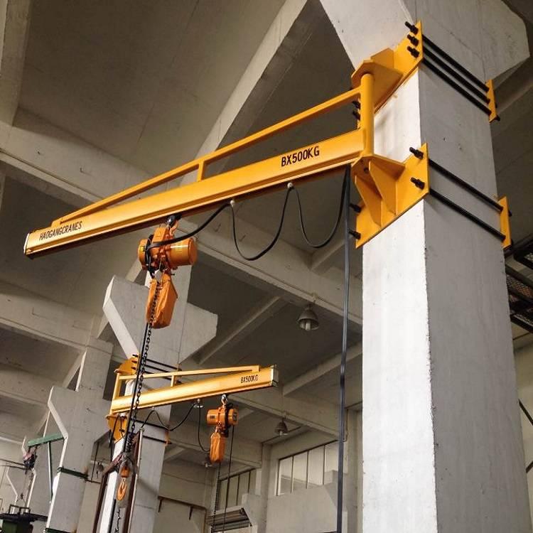 墙壁式起重机墙壁吊无柱式墙壁吊立柱起重机kbk起重机旋臂起重机BZQ壁式臂式起重机