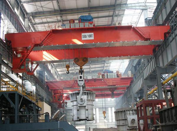 QZ型抓斗桥式起重机YZS四梁铸造起重机QD桥式起重机电磁挂梁桥式起重机天津起重设备