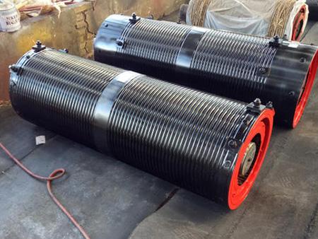 普通卷筒组 防摇摆专用卷筒启闭机专用卷筒折线卷筒组联轴器卷筒组