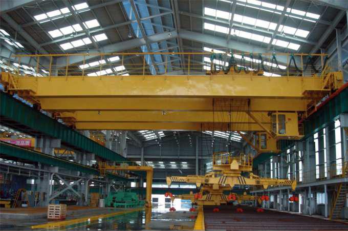 QE型5-16吨双小车吊钩桥式起重机QY5-10吨绝缘起重机下旋转伸缩挂梁电磁桥式起重机网