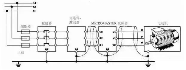 变频器工作原理图及接线图详解  变频器工作原理图 及 变频器接线图详解 第8张