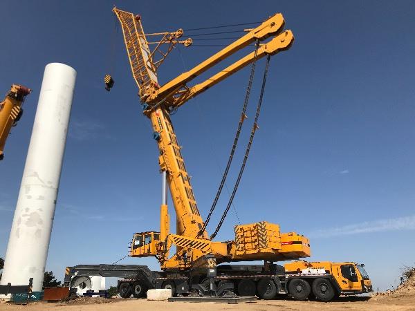 1200吨吊车多少钱?1200吨吊车介绍