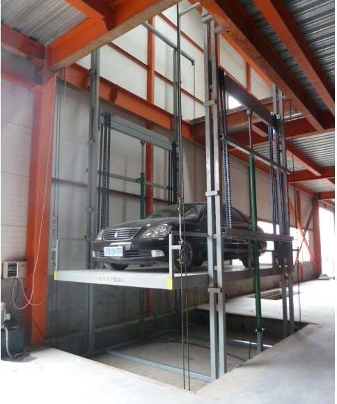 车间导轨式升降货梯导轨式升降机货梯导轨链条式升降货梯中国起重机网