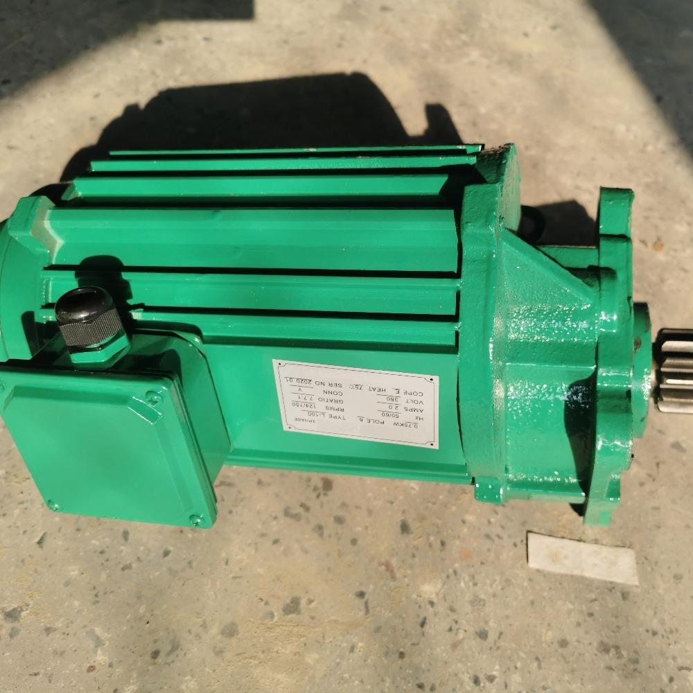 起重机专用三合一电机-台湾圣音减速马达-天车葫芦端梁软启动电机起重机配件