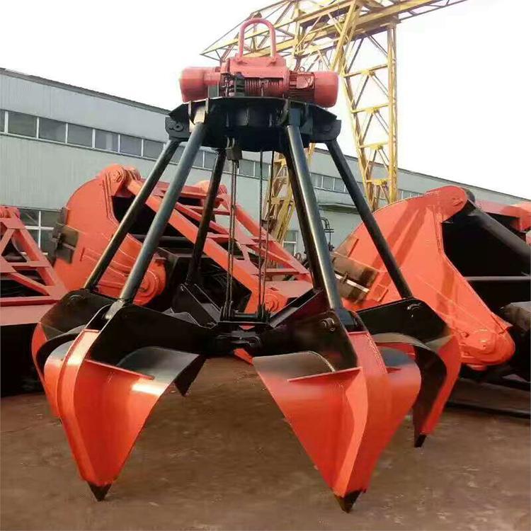 10吨液压抓斗起重机 垃圾站用液压抓斗起重机液压起重机