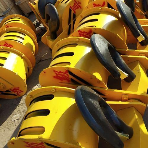 厂家直销龙门行车起重国标吊钩组非标定制吊钩组半封闭全封闭铸钢轮轧制轮2T-200T