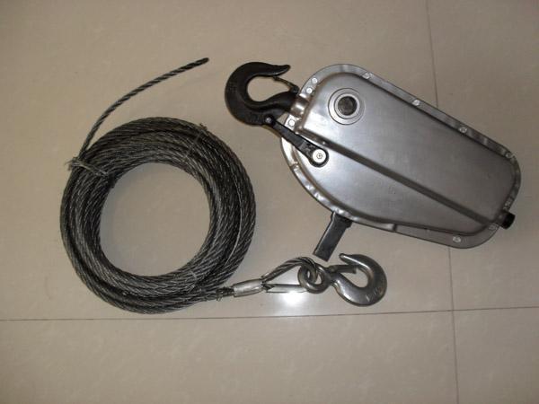 钢丝绳手扳葫芦吊篮专用手扳葫芦钢丝绳牵引机起重配件