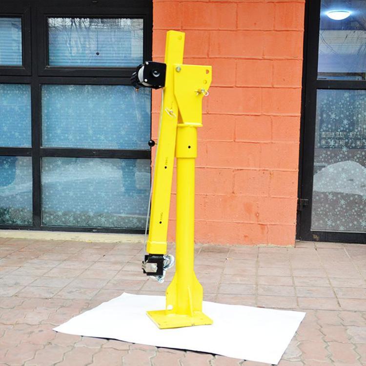 汽车吊带拴紧器手动绞盘电动绞盘车载小吊机起重机报价