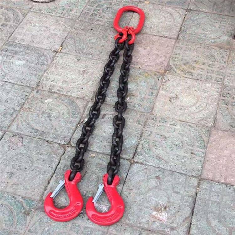 蝴蝶扣强力环子母环模锻圆环梨形环横吊起重钳竖吊起重钳天津起重设备