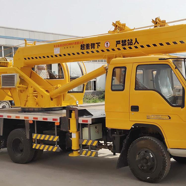 国五140/16吨汽车起重机徐工臂双节腿工程建筑汽车吊徐工汽车起重机