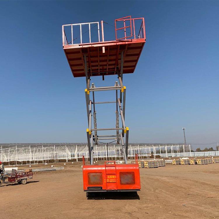 PLJX-0827升降机 高空作业平台 双柱铝合金升降机 升降平台厂家高空升降平台